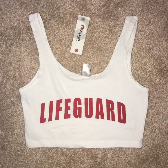 b2f8ccc3390f White lifeguard crop top